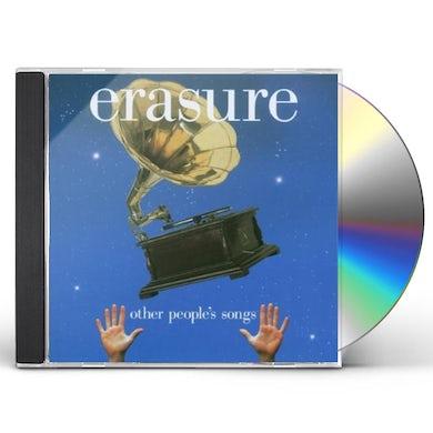 Erasure OTHER PEOPLES SONGS CD