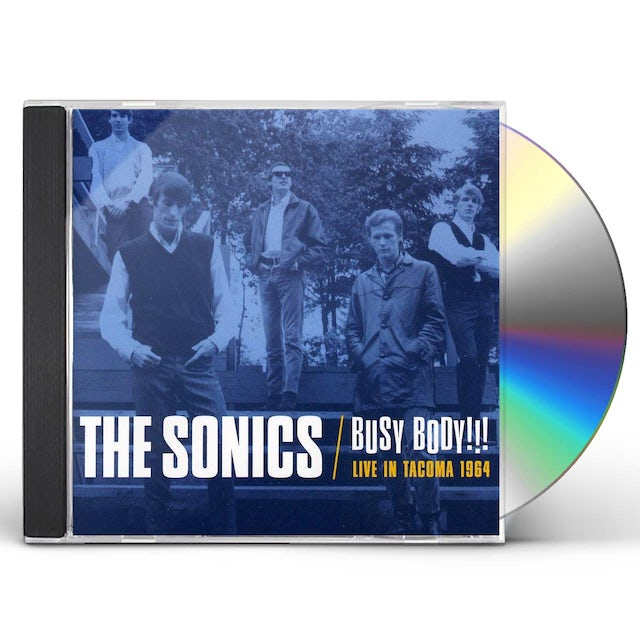 Sonics BUSY BODY: LIVE IN TACOMA 1964 CD
