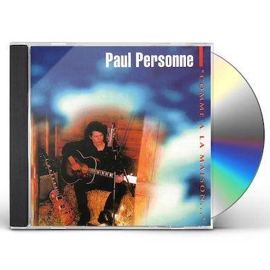Paul Personne COMME A LA MAISON CD