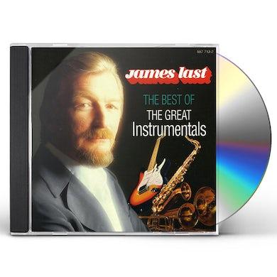 James Last BEST OF GREAT INSTRUMENTALS CD