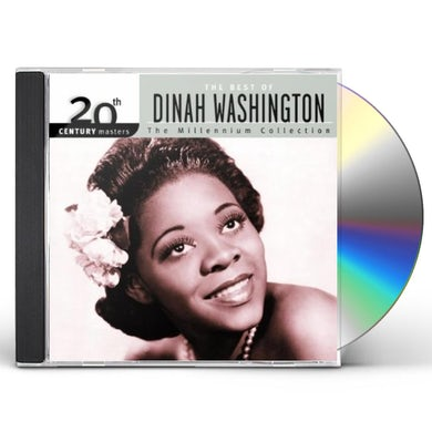 Dinah Washington 20TH CENTURY MASTERS: MILLENNIUM COLLECTION CD
