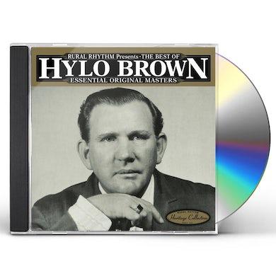 Hylo Brown BEST OF: ESSENTIAL ORIGINAL MASTERS - 25 BLUEGRASS CD