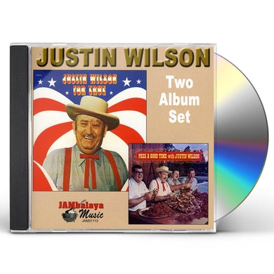 Justin Wilson FOR TRUE / PASS A GOOD TIME CD