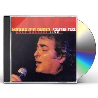 Boaz Shar'abi LIVE CD