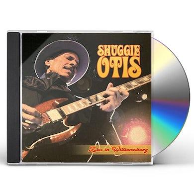 Shuggie Otis LIVE IN WILLIAMSBURG CD