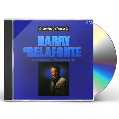 Harry Belafonte LIVE AT CARNEGIE HALL CD