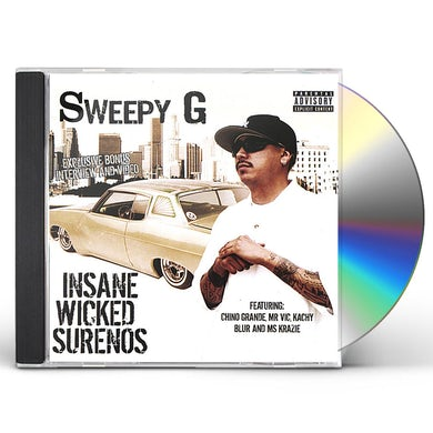 Sweepy G INSANE WICKED SURENOS CD