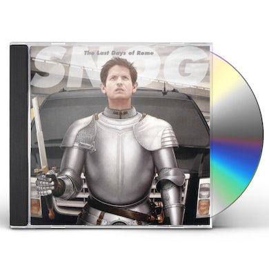 Snog LAST DAYS OF ROME CD
