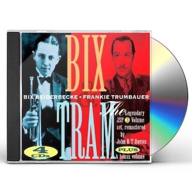 Bix Beiderbecke & Frankie Trumbauer BIX & TRAM CD