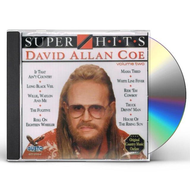 David Allan Coe SUPER HITS 2 CD