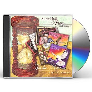 Steve Hall FOR THE MEMORIES CD