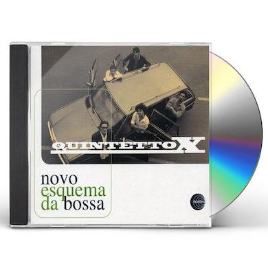 Quintetto X NOVO ESQUEMA DA BOSSA CD