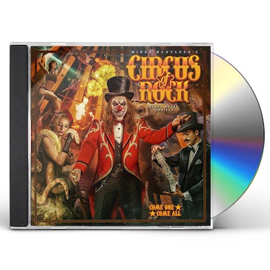 Circus Of Rock  COME ONE COME ALL CD