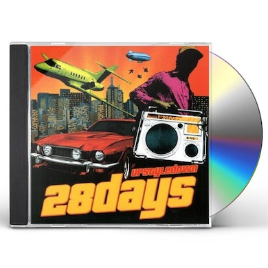 28 Days UPSTYLE DOWN CD