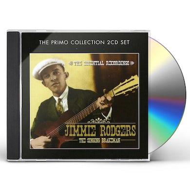 Jimmie Rodgers SINGING BRAKEMAN-THE ESSENTIAL RECORDINGS CD