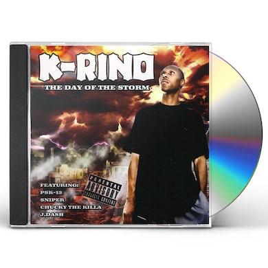 K-Rino DAY OF THE STORM CD