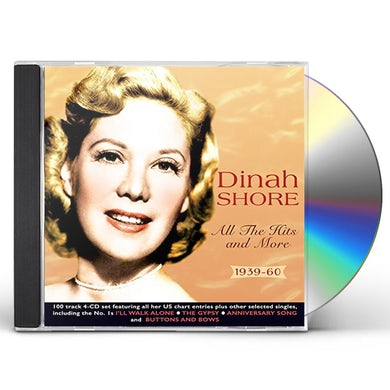 Dinah Shore ALL THE HITS & MORE 1939-60 CD