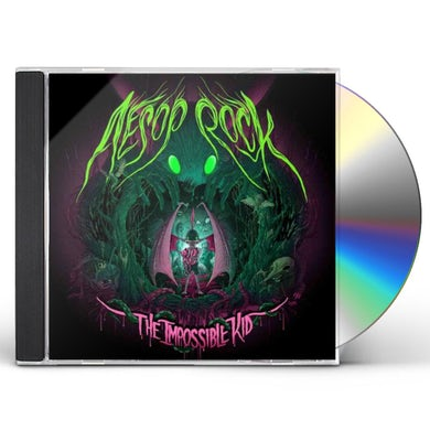 Aesop Rock IMPOSSIBLE KID CD