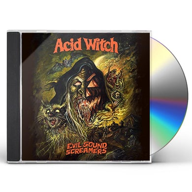 Acid Witch EVIL SOUND SCREAMERS CD