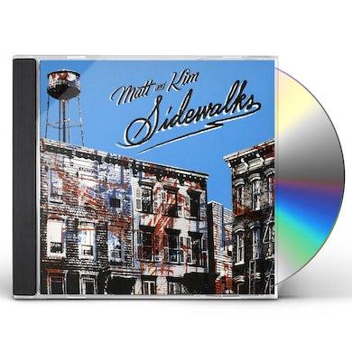 Matt & Kim SIDEWALKS CD