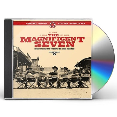 Elmer Bernstein MAGNIFICENT SEVEN Original Soundtrack + 4 BONUS TRACKS CD