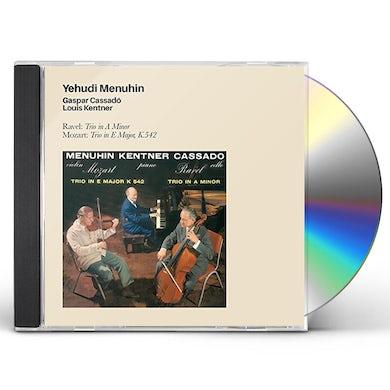 Yehudi Menuhin RAVEL: TRIO IN A MINOR CD