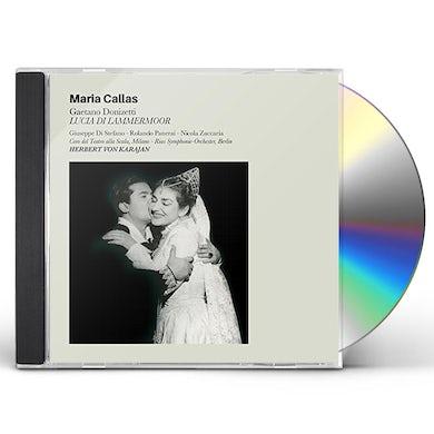 Maria Callas LUCIA DI LAMMERMOOR + 6 BONUS TRACKS CD