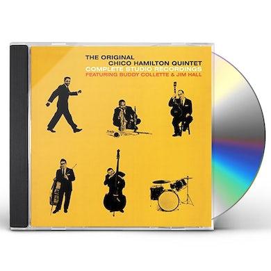 Chico Quintet Hamilton COMPLETE STUDIO RECORDINGS + BONUS TRACKS CD