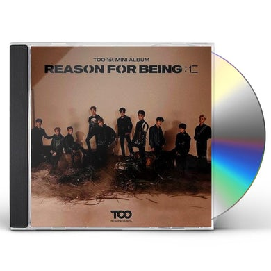 TOO REASON FOR BEING (RANDOM COVER) CD