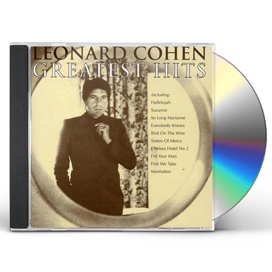Leonard Cohen GREATEST HITS CD