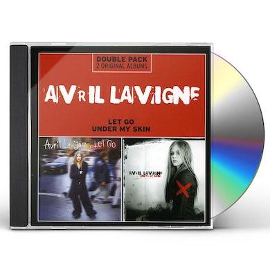 Avril Lavigne LET GO/UNDER MY SKIN CD