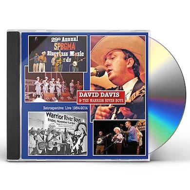 David Davis RETROSPECTIVE: LIVE 1984-2014 CD