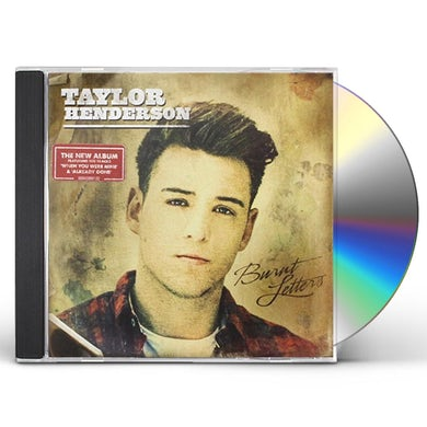 Taylor Henderson BURNT LETTERS CD