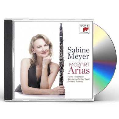 MOZART ARIAS CD
