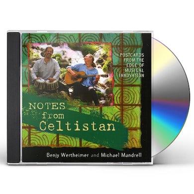 Benjy Wertheimer NOTES FROM CELTISTAN CD