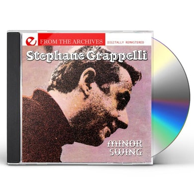 Stephane Grappelli MINOR SWING: FROM THE ARCHIVES CD