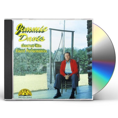 Jimmie Davis GREATEST HITS: FINEST PERFORMANCES CD