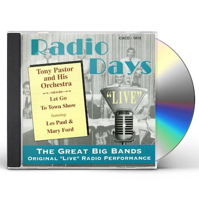 Tony Pastor FEATURING LES PAUL & MARY FORD CD