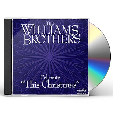 Williams Brothers CELEBRATE THIS CHRISTMAS CD