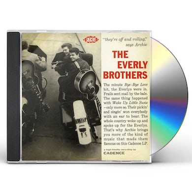 The Everly Brothers THEY'RE OFF AND ROLLIN CD