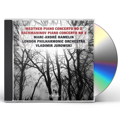 Marc-Andre Hamelin Medtner & Rachmaninov: Piano Concertos CD