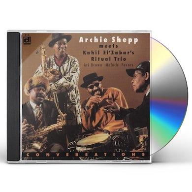 Archie Shepp CONVERSATIONS CD
