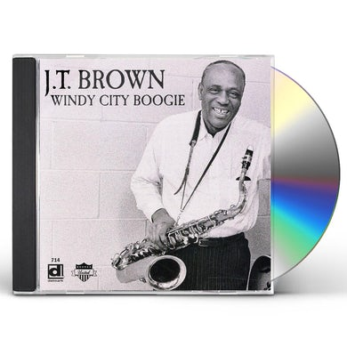 J.T. Brown WINDY CITY BOOGIE CD