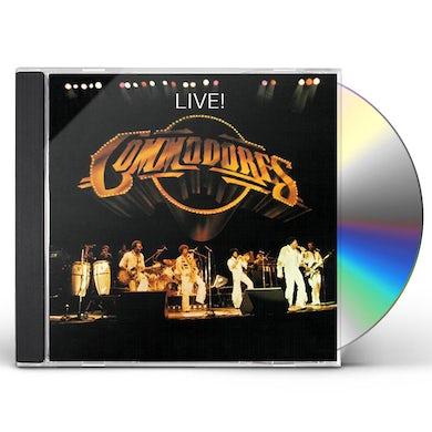 Commodores LIVE CD