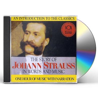 J. Strauss HIS STORY & HIS MUSIC CD