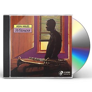 Ron Miles WITNESS CD
