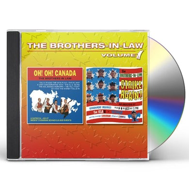 Brothers in law VOLUME 1 CD