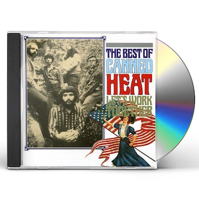 Canned Heat LET'S WORK TOGETHER CD