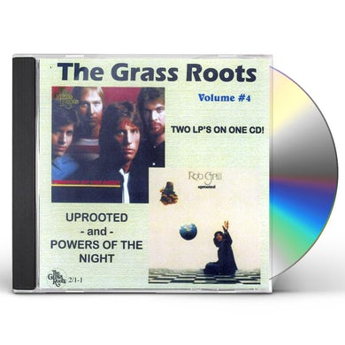 Grass Roots UPROOTED / POWERS OF THE NIGHT CD