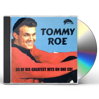 Tommy Roe 33 GREATEST HITS CD